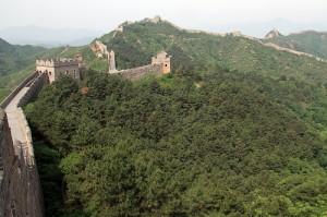 Kinesiska muren vid Simatai