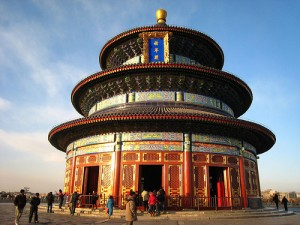 Temple of Heaven i Peking